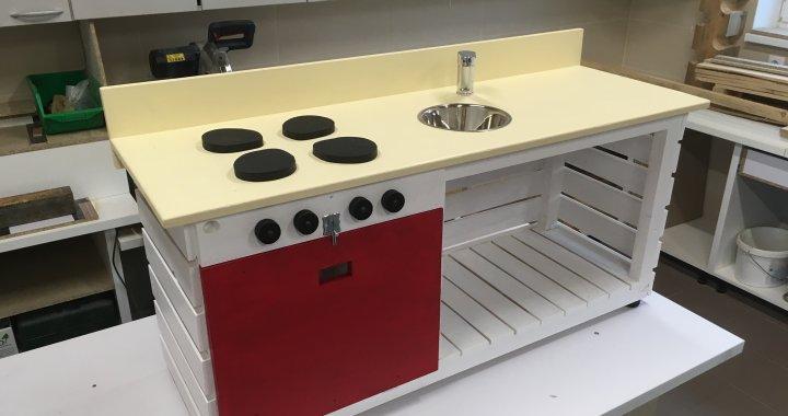 Detská kuchynka na hranie