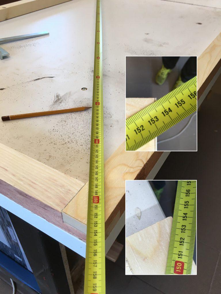 meranie uhlopriečok